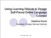 Design self paced