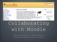 collaborating with moodle