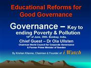 edu good governance