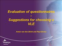 11 15 evaluation and suggestions vle11 10