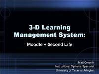 107 3 D Learning Management System TxDLA