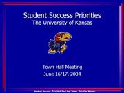 Town Hall PowerPoint 6 14 04