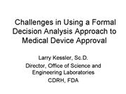 OSEL Formal Decision Analysis Sept 06v2