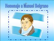 Homenaje a Manuel Belgrano