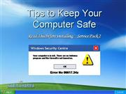 Keeping your computer safe