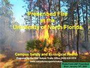 Prescribed Fire at UNF