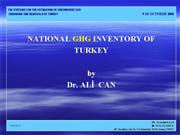 15 national ghg inventory of turkey ali can