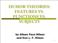 humor theories