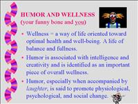 humor and wellness