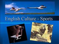 English Culture Sports2 ready