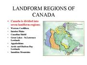 landforms of canada