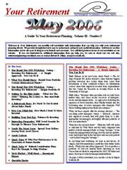 Your Retirement May 2006 Newsletter