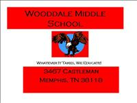Wooddale Middle School Blue Ribbon Plan