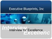 Interview for Excellence