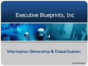 Ownership and Classification