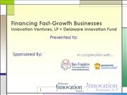 Financing Fast Growth Businesses