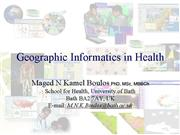 gis in health