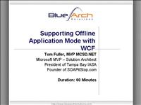 Supporting Offline Application Mode With WCF