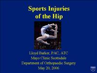 Hip Injuries in Athletics PartI