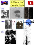 CROP Cosmic Ray History 2005