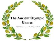 Ancient Olympics