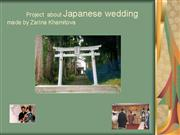 wedding in japan