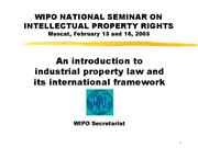 wipo ipr mct 05 2