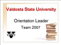 Orientation Leaders 2007