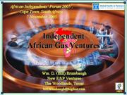 2005 Nov 7 Independent African Gas Ventures 1