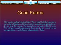 Good Karma 112