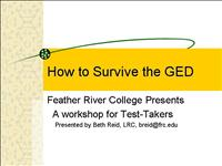 How to Survive the GED