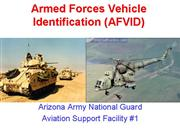 AZAASF1 ARMED FORCES VEHICLE IDENTIFICATION AFVID