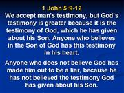Lay sermon Jesus is the only way
