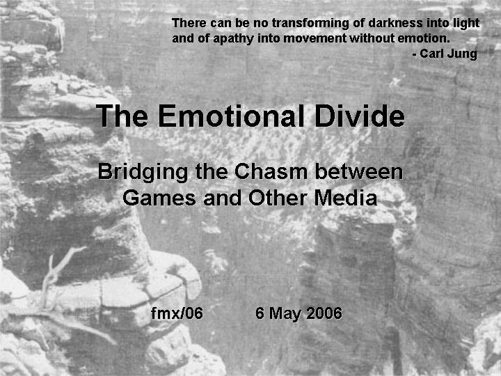 Emotional Divide