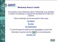 Finder Workshop