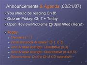 CHM 103 Lecture 16a S07