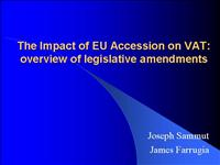 The Impact of EU Accession on VAT