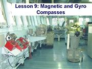 Lesson09 Magnetic Compass and Gyrocompass Theory e