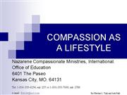 compassion lifestyle education