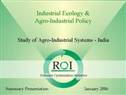 agro industrial systems