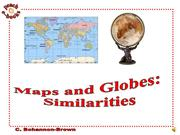 PEN 2926 Maps and Globes Similarities