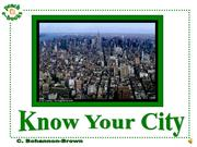 PEN 2927 Know Your City