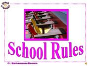 PEN 2929 School Rules