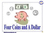 PEN 2931Four Coins and A Dollar