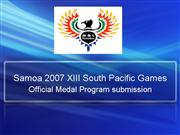 Samoa 2007 XIII South Pacific Games