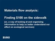 GD Materials Flow Analysis Briefing1