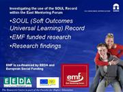 Powerpoint presentation for EMF SOUL2