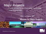 Major Projects presentation 16 06