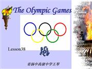 Lesson38 The Olympic Games