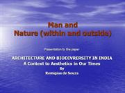 Man  And  Nature  (Within  And  Outside)